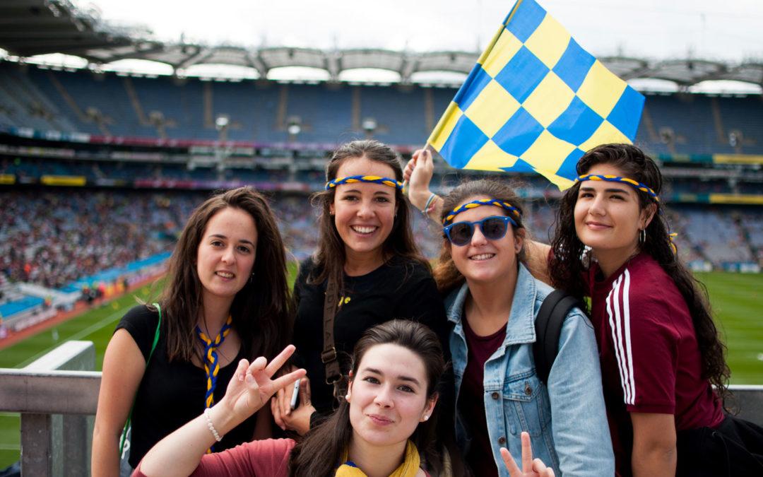 Dublín ha sido el qué pero que sobretodo ha sido con quién