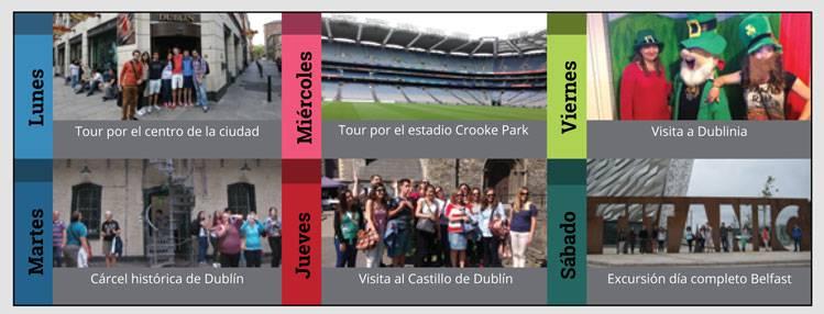 Actividades Dublín