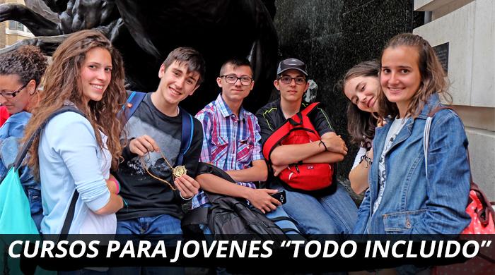Curso en el extranjero para jóvenes
